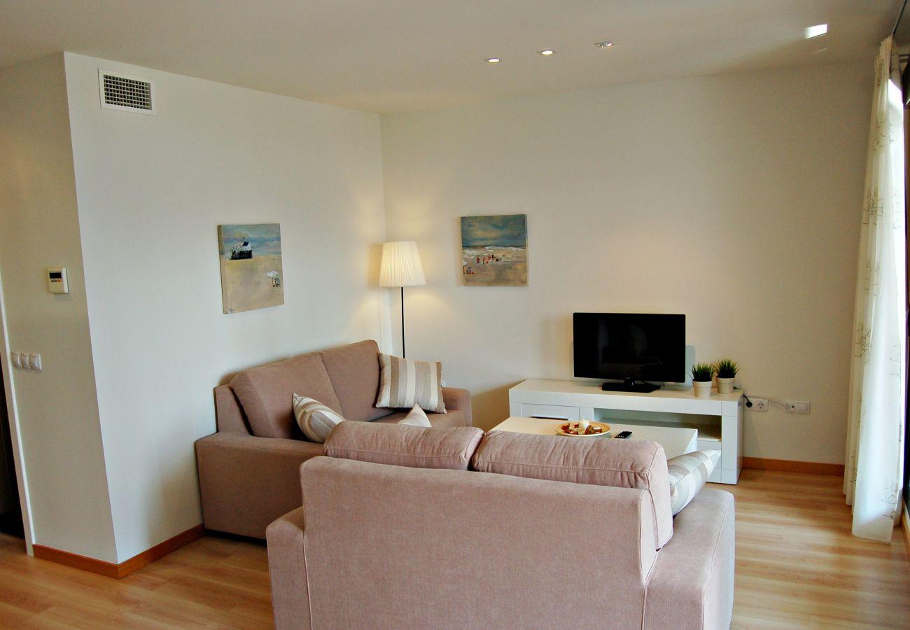 Ferienwohnung in Vera playa - Alborada Bajo - 150m Strand, WiFi, SAT-TV