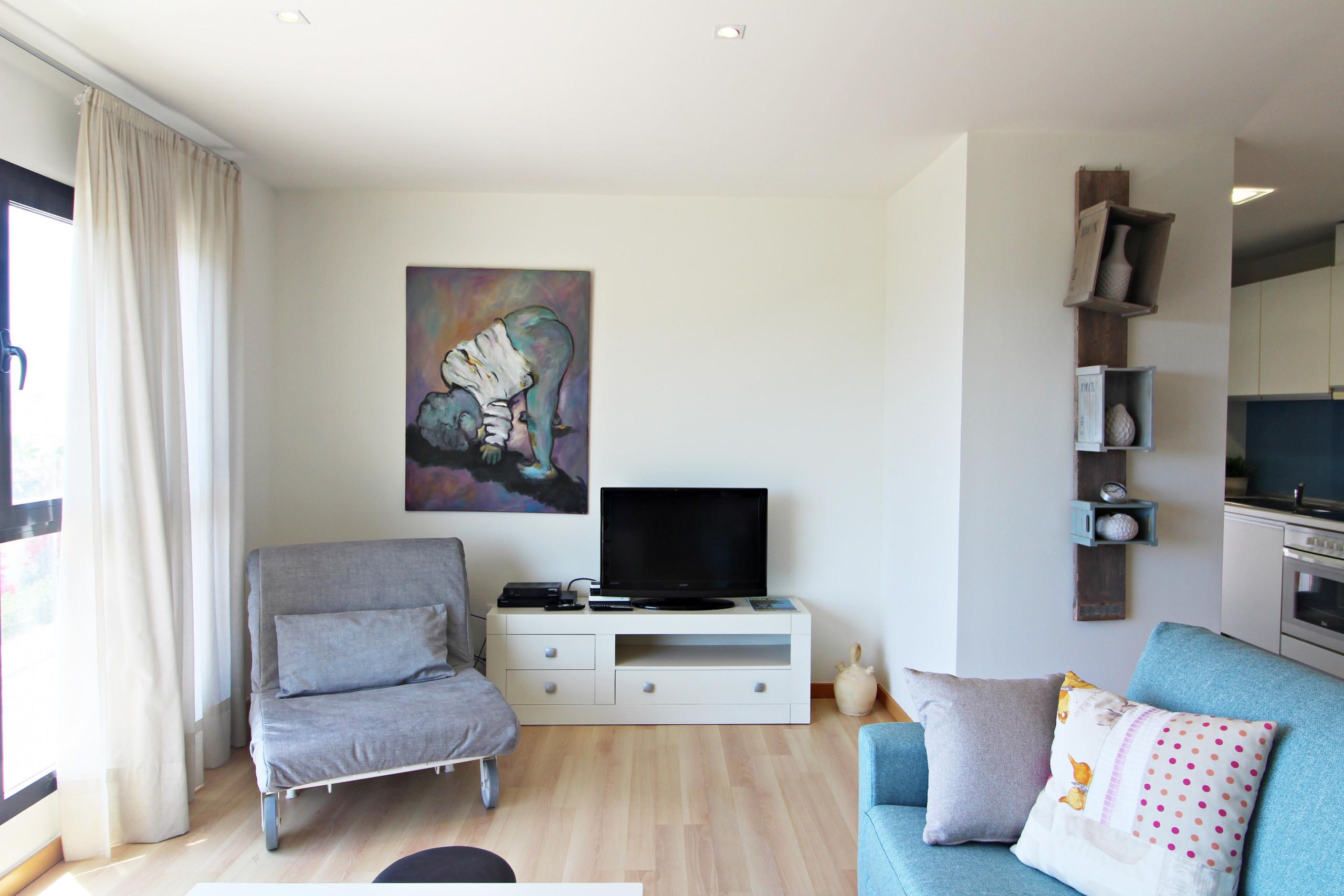 Alborada - Penthouse - 150M Strand, WiFi, SAT TV, Meerblick
