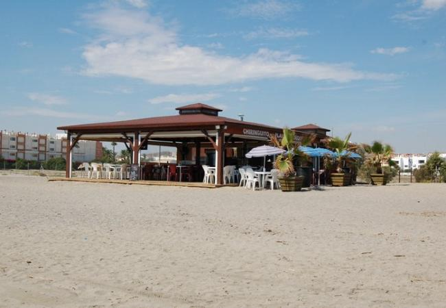 Ferienwohnung in Vera playa - Alborada - Penthouse - 150M Strand, WiFi, SAT TV, Meerblick