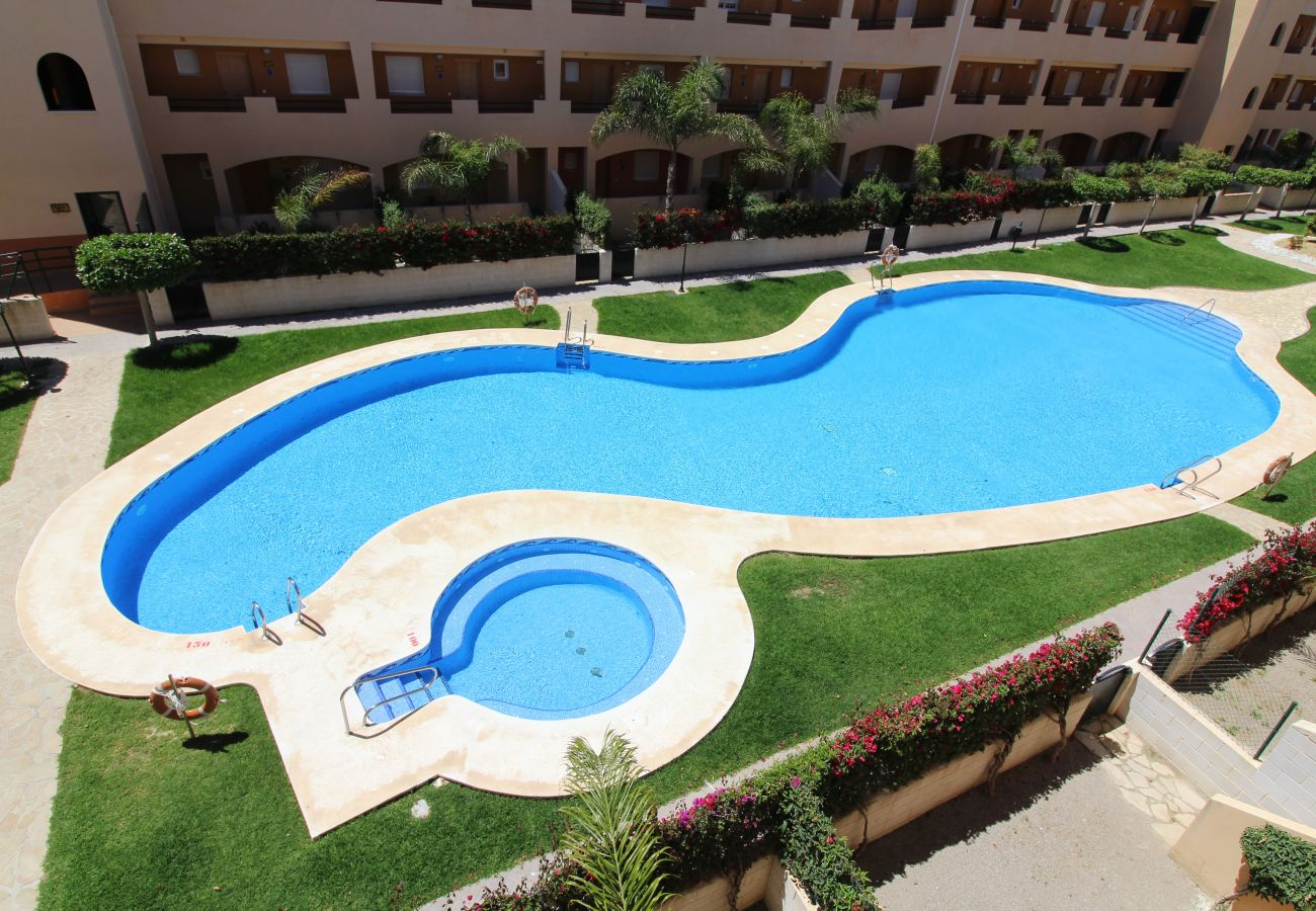Ferienwohnung in Vera playa - Paraíso de Vera II - privater Pool, WiFi, 300M Strand
