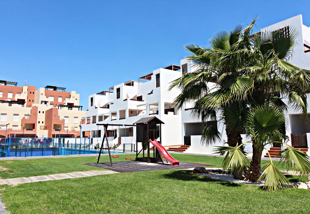 Ferienwohnung in Vera playa - Alborada B134 - Mit WiFi & privatem Garten