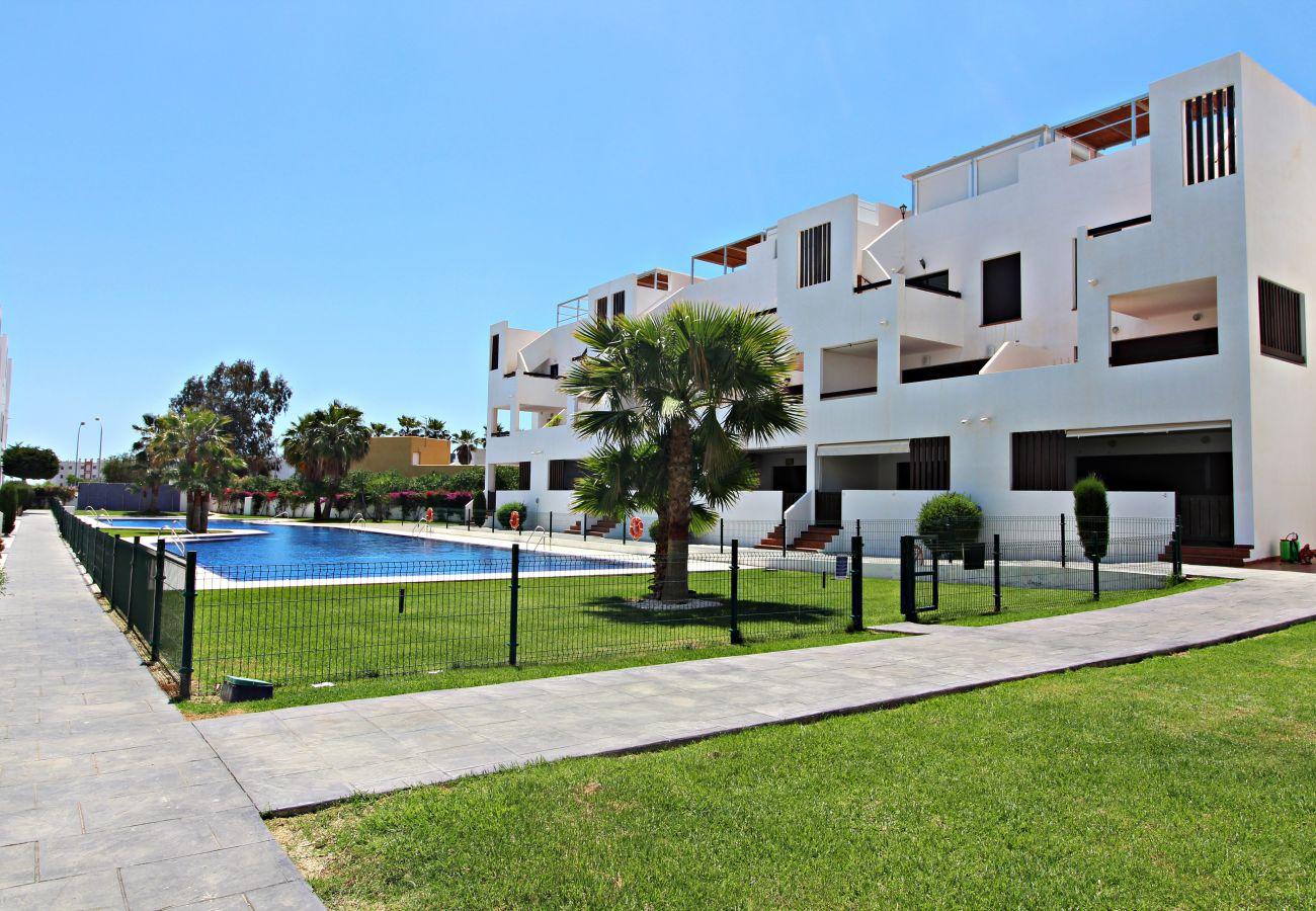 Appartement in Vera Playa - Alborada eerste - 150m strand, WiFi, SAT TV