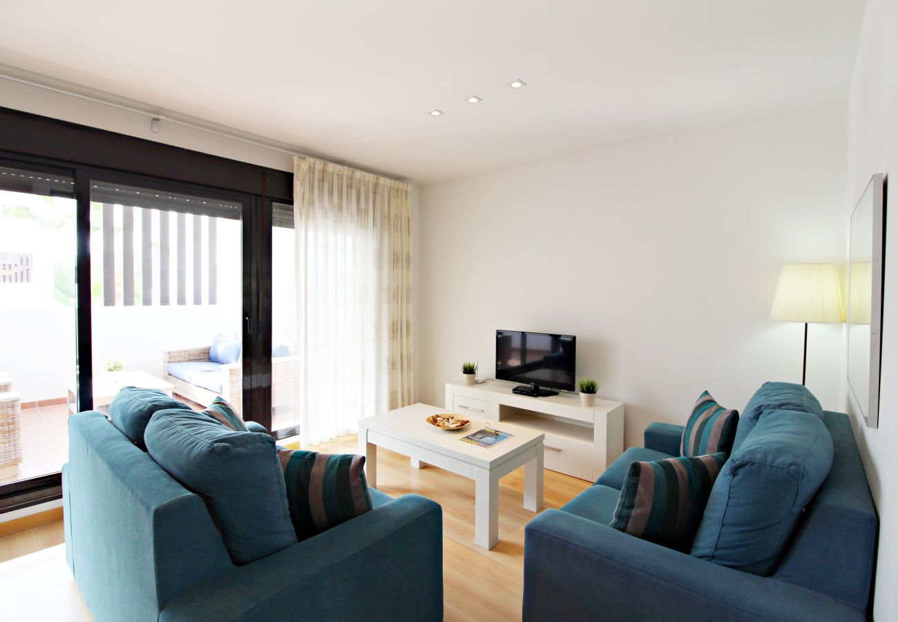 Apartamento en Vera playa - Alborada Bajo - 150m playa, WiFi, SAT TV
