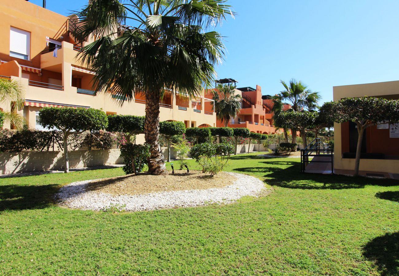 Apartamento en Vera playa - Paraíso de Vera II - piscina privada, WiFi, 300m playa