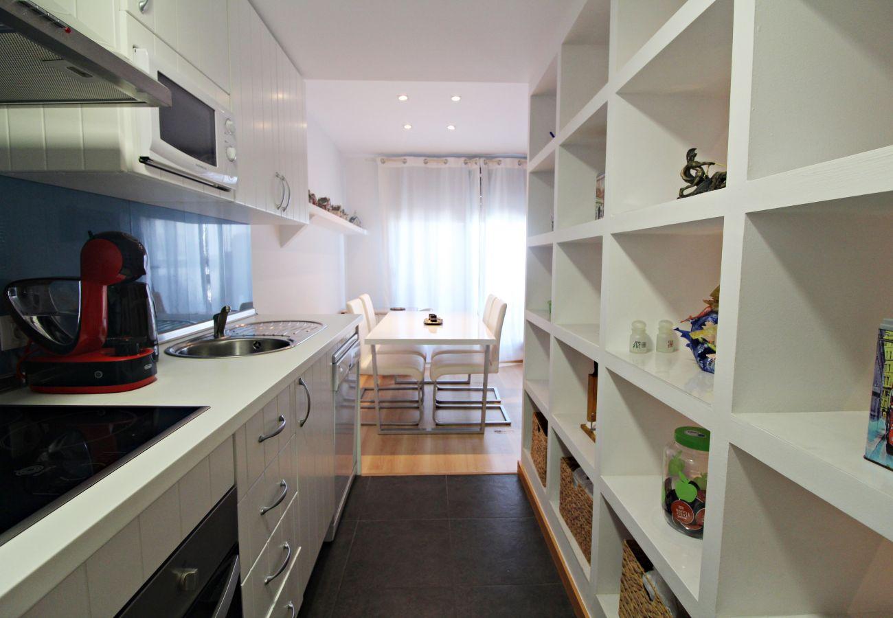 Apartamento en Vera playa - Alborada 2º317 - 150m playa, WiFi, solarium