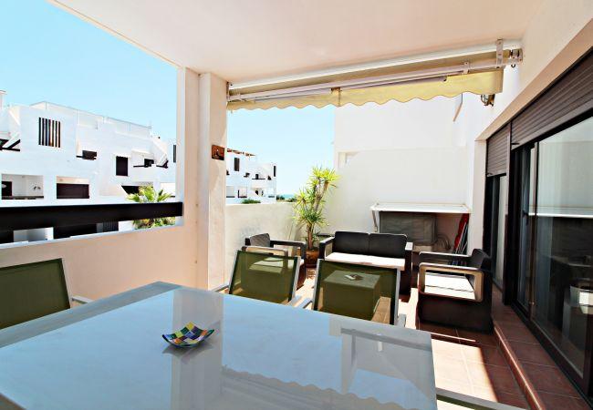 Appartement à Vera playa - Alborada 1º247 - Plage 150m, WiFi, vues à la mer