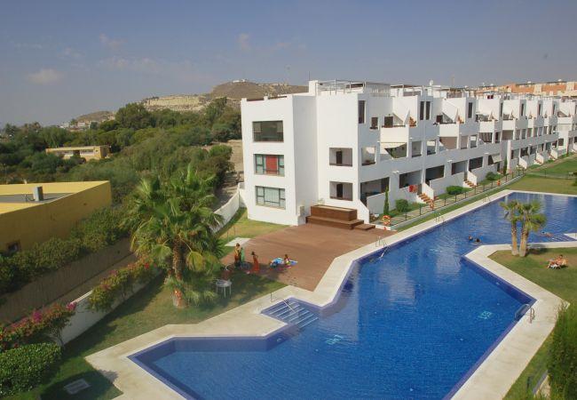 Appartement à Vera playa - Alborada Penthouse - Plage 150m, Wi-Fi, solarium, vues à la mer