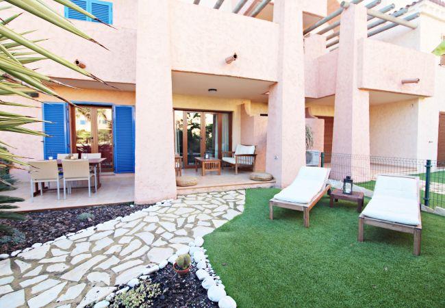 Appartement à Vera playa - La Kasbah bajo - WiFi, jardin privé, piscine communautaire