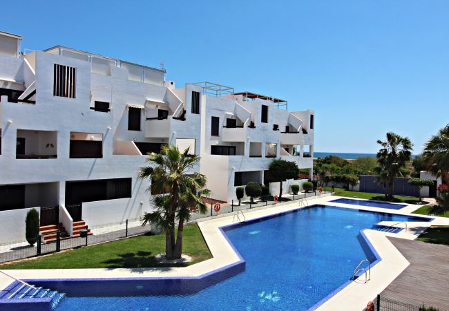 Apartment in Vera playa - Alborada 1st - 150m beach, WiFi, SAT TV