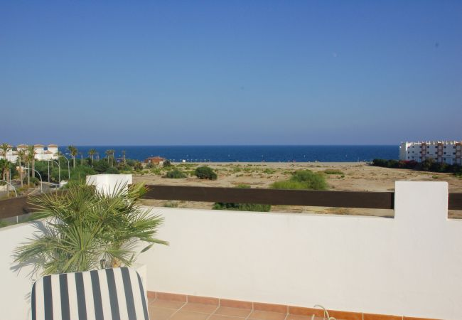 Apartment in Vera playa - Alborada Penthouse - 150m beach, WiFi, solarium, sea views