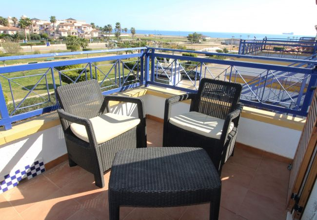 Apartment in Vera playa - Veramar 5 - 100m beach, terrace & sea views