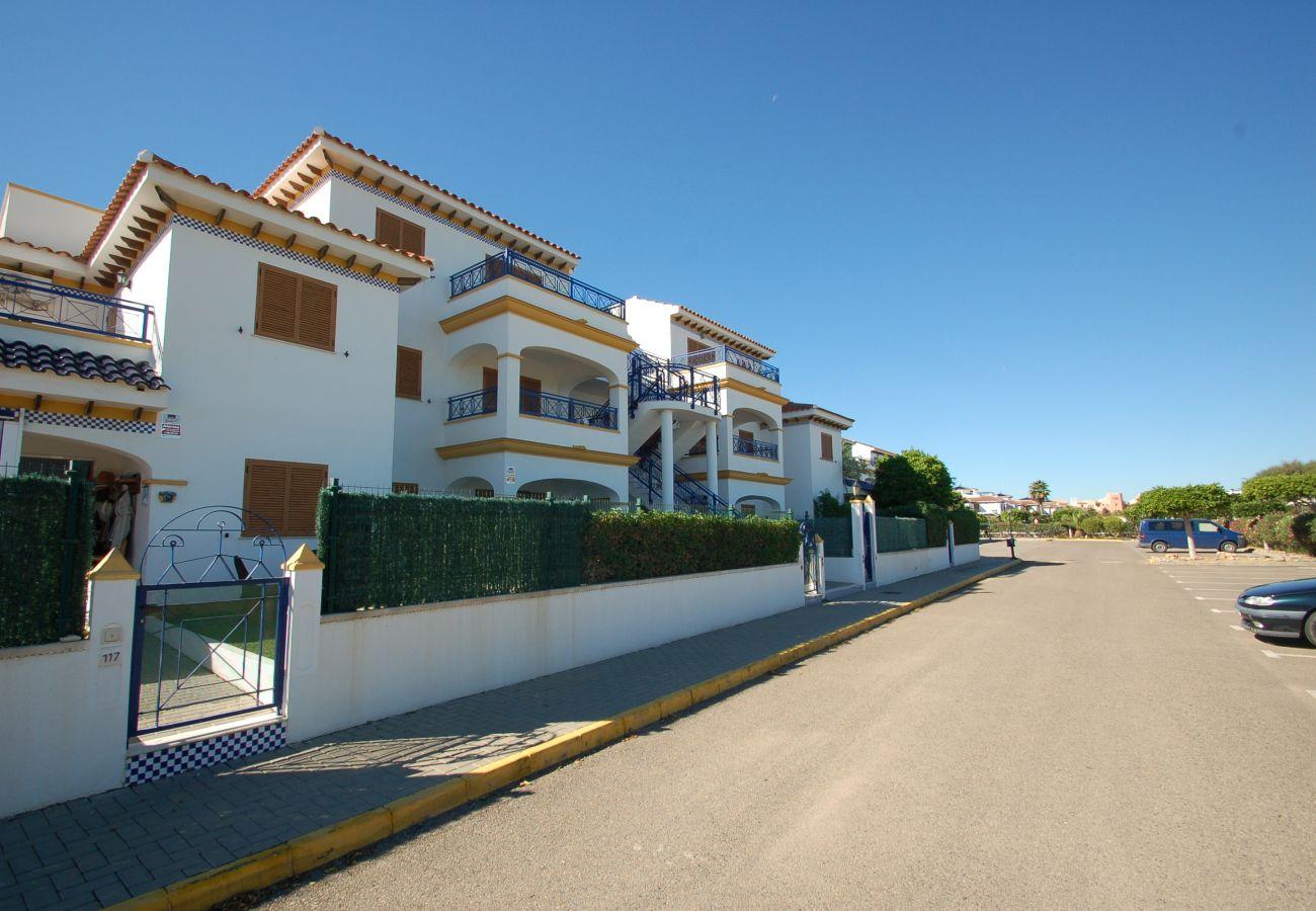 Apartment in Vera playa - Veramar 5 - Sea views, 200m beach, terrace