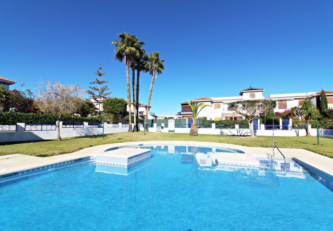 Apartment in Vera playa - Veramar 2 - 200m beach, private garden, pool