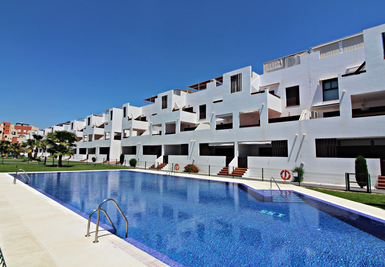 Apartment in Vera playa - Alborada Bajo Fam - 150m beach, WiFi, SAT TV