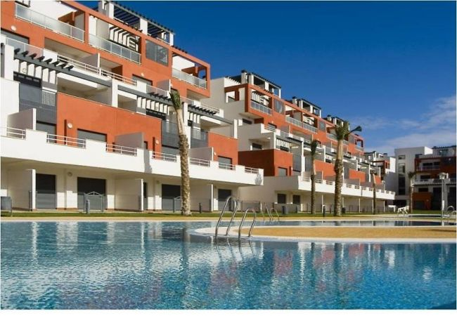Apartment in Vera playa - En Puerto Rey a 400 m playa con WiFi (ref.MR - 2D)