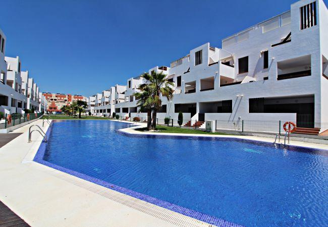 Apartment in Vera playa - Alborada 2º301 - 250m beach, solarium, pool