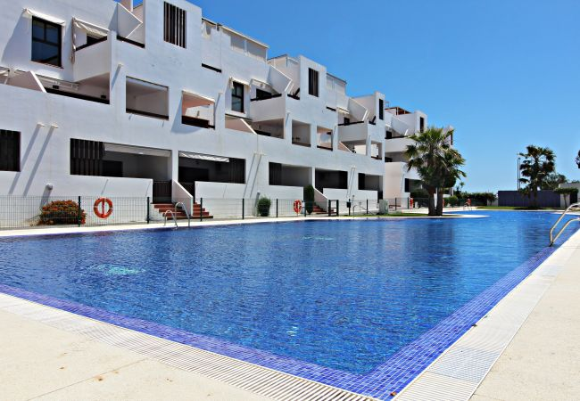 Apartment in Vera playa - Alborada 1st floor 221 - 150m beach, WiFi, SAT TV