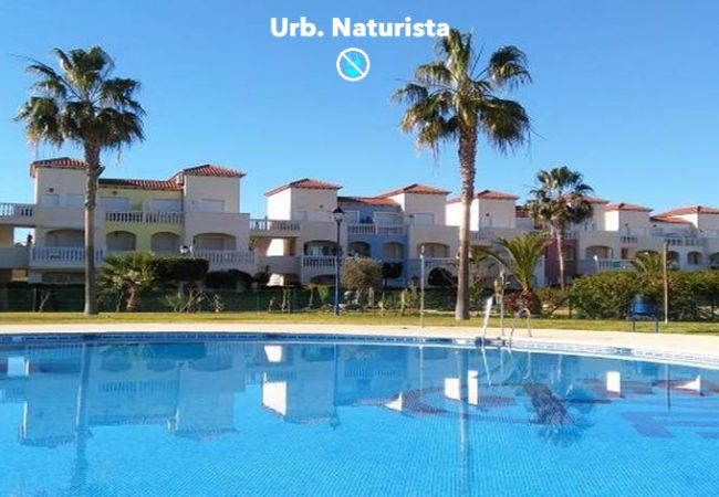 Apartment in Vera playa - Torremar Natura - Naturist, terrace & indoor heated pool