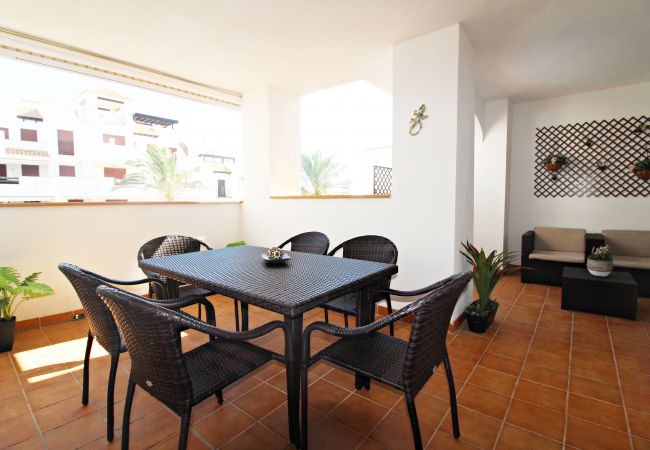 Apartment in Vera playa - Altos de Nuevo Vera - 350m beach, WiFi, terrace, pool