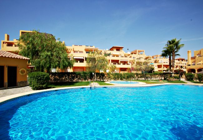 Apartment in Vera playa - El Faro - WiFi, solarium and sea views
