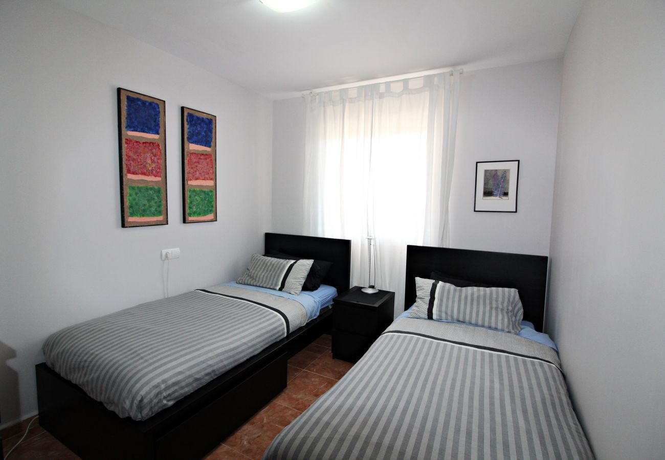Apartment in Vera playa - Paraíso de Vera I - 250m beach, private pool & WiFi