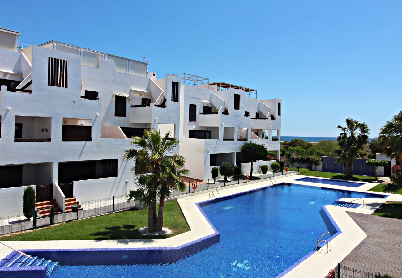 Apartment in Vera playa - Alborada 1º230 - WiFi, terrace, communal pool