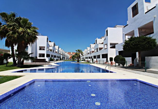 Apartment in Vera playa - Alborada B133 - 250m beach, WiFi & private garden