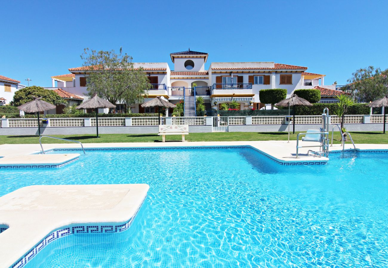 Apartment in Vera playa - Veramar 6 - Duplex with WiFi, English TV & private garden