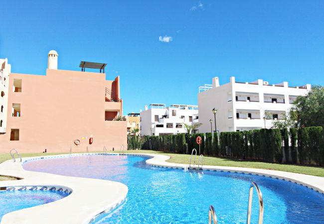 Apartment in Vera playa - Paraíso de Vera Penthouse - 250m beach, WiFi & solarium