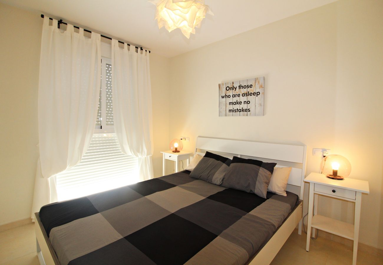 Apartment in Vera playa - Paraíso de Vera Penthouse - 350m beach, WiFi & solarium