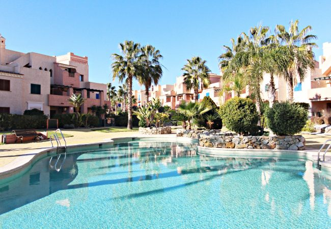 Apartment in Vera playa - La Kashba - WiFi, private garden, communal pool