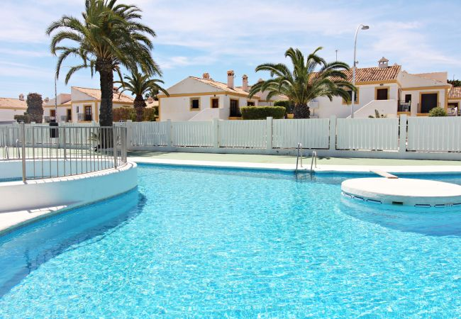 Apartment in Vera playa - Pueblo Laguna Bajo - 100m beach, communal pool, tennis court