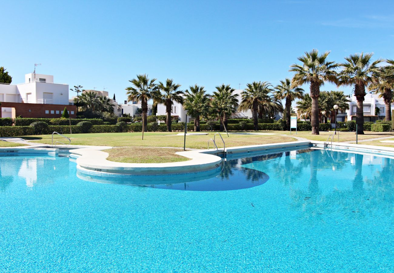 Townhouse in Vera playa - Playa de Baria I - Beachfront, private Garden & WiFi