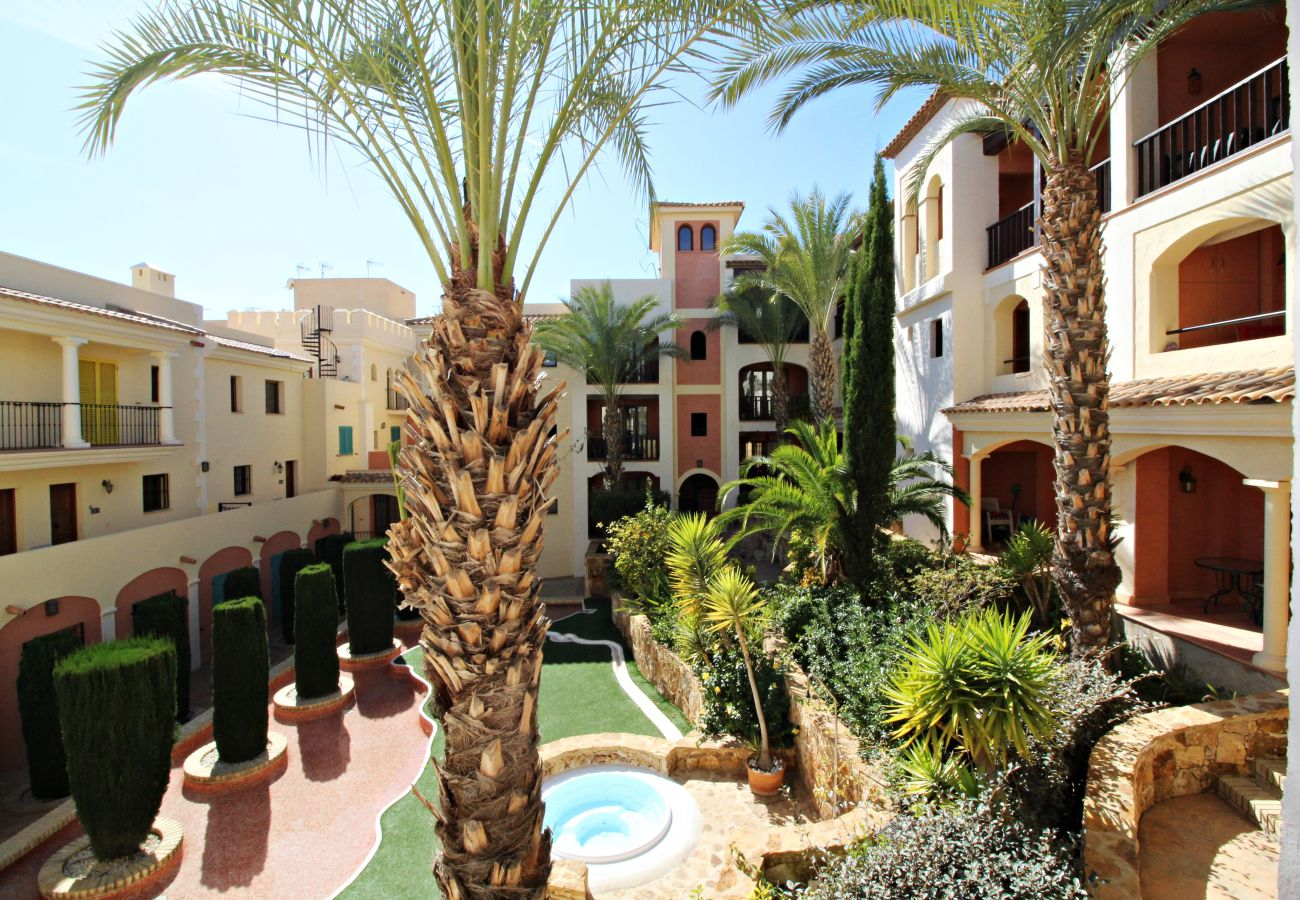 Apartment in Villaricos - Harbour Lights IV - WiFi, 200m beach, terrace